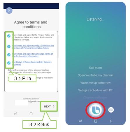 Cara mengatur Bixby Voice Note 8