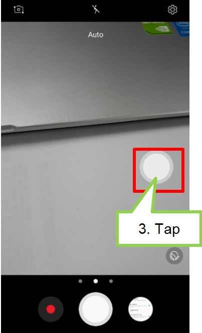 How do I set to show floating camera button on camera preview screen of my J7 Pro?