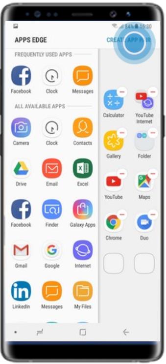 Create App Pairs