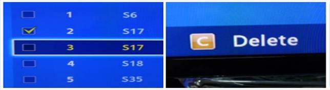 [Smart TV] ขั้นตอนการลบช่อง(channel) บนโทรทัศน์