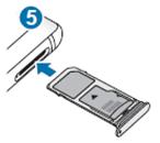 Galaxy Note8 如何安裝記憶卡?
