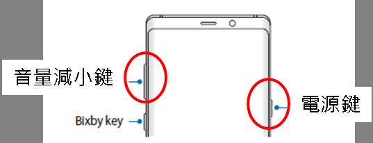 Galaxy Note 8 如何重啟裝置?