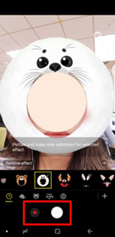 Galaxy Note 8 如何使用貼圖?