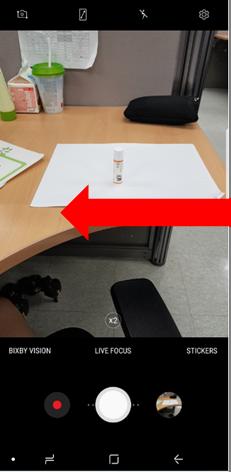 Galaxy Note 8 如何使用濾鏡?