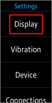 Gear Fit2 Pro - 如何讓手錶畫面持續顯示?