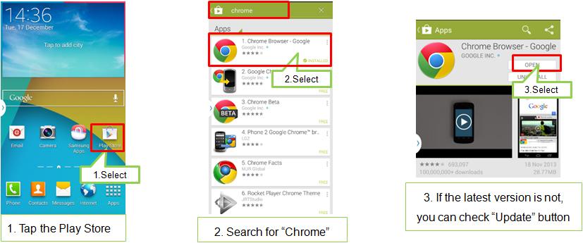 Black popup displays during internet via Chrome