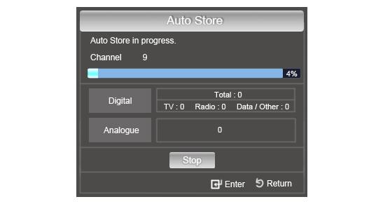 Auto Store Menu